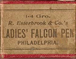 182 Ladies' Falcon Pen Box