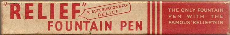 Relief 66 or 90 box